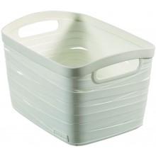 CURVER RIBBON S úložný box 18 x 26 x 21 cm, 8 l bílý 00718-X07
