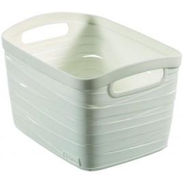 CURVER úložný box RIBBON S, 18 x 26 x 21 cm, 8 l, bílá, 00718-X07