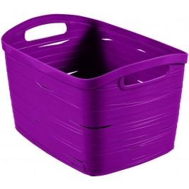 CURVER úložný box RIBBON L, 24 x 38 x 29 cm, 20 l, fialová, 00719-437