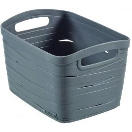CURVER úložný box RIBBON L, 24 x 38 x 29 cm, 20 l, šedý, 00719-T37