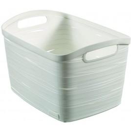 CURVER úložný box RIBBON L, 24 x 38 x 29 cm, 20 l, bílá, 00719-X07