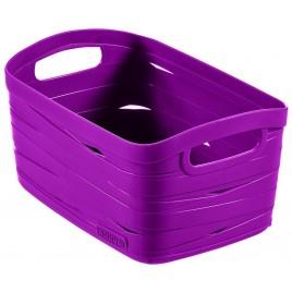 CURVER úložný box RIBBON XS, 13 x 24 x 17 cm, 3 l, fialová, 00728-437