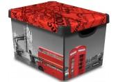 CURVER box úložný dekorativní L LONDON