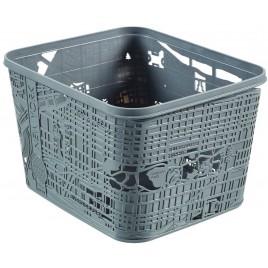 CURVER úložný box City New York, 35 x 30 x 22 cm, šedá, 00274-T37