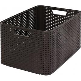 CURVER STYLE L úložný box 43,6 x 22,8 x 32,6 cm hnědý 03616-210