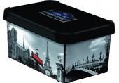 CURVER PARIS S box úložný dekorativní 29,5 x 19,5 x 13,5 cm 04710-P35
