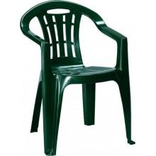 CURVER MALLORCA zahradní židle, 56 x 58 x 79 cm, tmavě zelená 17180335