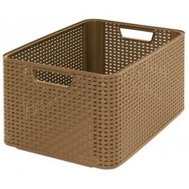 CURVER STYLE L úložný box 43,6 x 22,8 x 32,6 cm mocha 03616-213