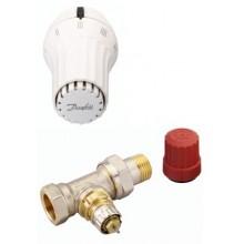 """Danfoss set RA-N přímý ventil 1/2"""" + RAE 5054 termostatická hlavice 013G5094"""