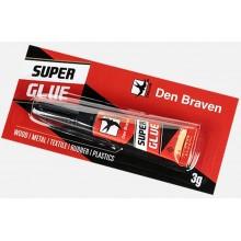 Den Braven Sekundové lepidlo 3g Super glue, 50700RL