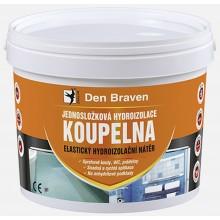 DEN BRAVEN Jednosložková hydroizolace KOUPELNA kbelík 13 kg medově hnědá CH0291