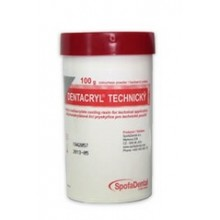 DENTACRYL metylmetakrylátová licí pryskyřice 1 kg