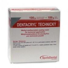 DENTACRYL metylmetakrylátová licí pryskyřice 100 g
