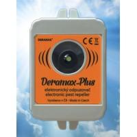 Deramax-Plus Ultrazvukový odpuzovač - plašič kun a hlodavců 0410