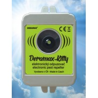 Deramax-Kitty Ultrazvukový odpuzovač - plašič koček a psů 0220