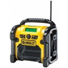 DeWALT Aku rádio LI-ION 10,8 - 18 V + 220V + USB Nabíječka externích zařízení DCR020-QW