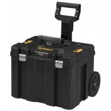 DeWALT TSTAK kufr s kolečky a výsuvnou rukojetí DWST1-75799