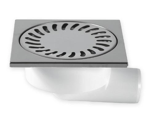 Podlahová vpusť boční DN50/95N nerez 326N