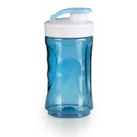 DOMO Malá láhev smoothie mixéru - modrá DO481BL-BK