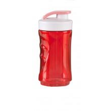 DOMO Malá láhev smoothie mixéru -červená DO434BL-BK