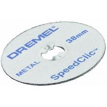 DREMEL EZ SpeedClic kotouče s rychloupínáním 38mmm, 12dílná sada 2615S456JD