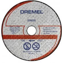DREMEL DSM20 Řezný kotouč na zdivo 77 mm 2615S520JA