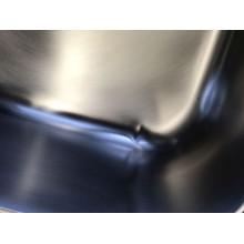 VÝPRODEJ Franke Logica LLX 611/7, 790x500 mm, nerezový dřez pravý + sifon 101.0120.188, OHLÝ ROH, PROMÁČKLINA
