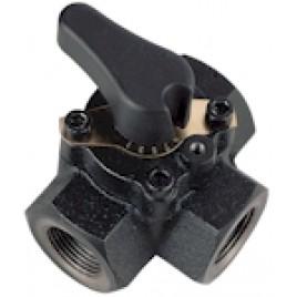 """JUNKERS DWM 32-2 R 1 1/4"""" Trojcestný směšovací ventil 7719003646"""