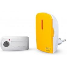 ELEKTROBOCK BZ11 Bezdrátový zvonek 230V AC, oranžová 1118