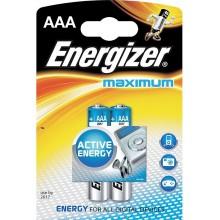 ENERGIZER Alkalické tužkové baterie Maximum LR03/2 2xAAA 35032913