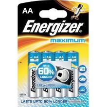 ENERGIZER Alkalické tužkové baterie Maximum LR6/4 4xAA 35035755
