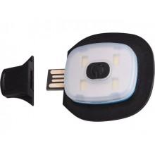 EXTOL LIGHT světlo do čepice, náhradní, nabíjecí, USB 43191A