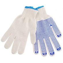 """EXTOL CRAFT rukavice bavlněné s PVC terčíky na dlani, velikost 10"""" 99708"""