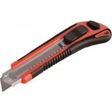 EXTOL PREMIUM nůž ulamovací s kovovou výztuhou, 18mm 80044