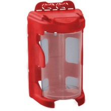 EXTOL CRAFT organizér modulový závěsný - červený 210ml 60 x 92mm PP 78915