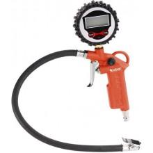 EXTOL PREMIUM plnič pneumatik s manometrem, digitální, stupnice - psi, bar, kPa, Kgf/cm2 8865065