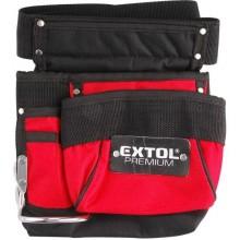 EXTOL PREMIUM pás na nářadí, 3 kapsy, nylon 8858001
