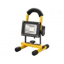 EXTOL LIGHT reflektor LED 10W, nabíjecí, s podstavcem 43122