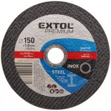 EXTOL PREMIUM kotouč řezný na ocel/nerez, 115x0,8x22,2mm 8808150