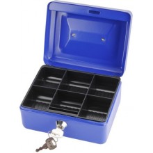 EXTOL CRAFT schránka na peníze přenosná s pořadačem, 152x118x80mm 99010