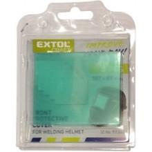 EXTOL PREMIUM sklo ochranné pro svářecí helmu, plastové 5ks 8898027A
