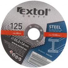 EXTOL CRAFT kotouče 125x1,6x22,2mm, řezné na kov 5ks 106920
