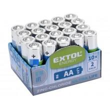 EXTOL Energy Tužkové baterie AA 1,5V 42003