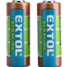 EXTOL ENERGY Alkalické baterie 12V 2ks 42017