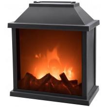EXTOL LIGHT krb s plápolajícím ohněm LED 43401