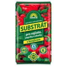 FORESTINA Substrát pro rajčata, papriky, okurky, 40 l