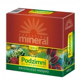FORESTINA Mineral Krystalické hnojivo Podzimní 400g - pro dobré přezimování 1209084