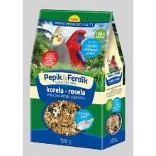 FORESTINA PEPÍK&FERDÍK krmná směs pro střední papoušky 500g