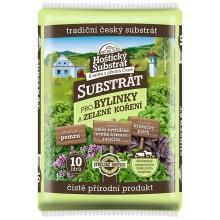 Hoštický substrát pro bylinky a zelené koření 10l