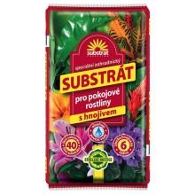 FORESTINA Substrát pro pokojové rostliny 40l